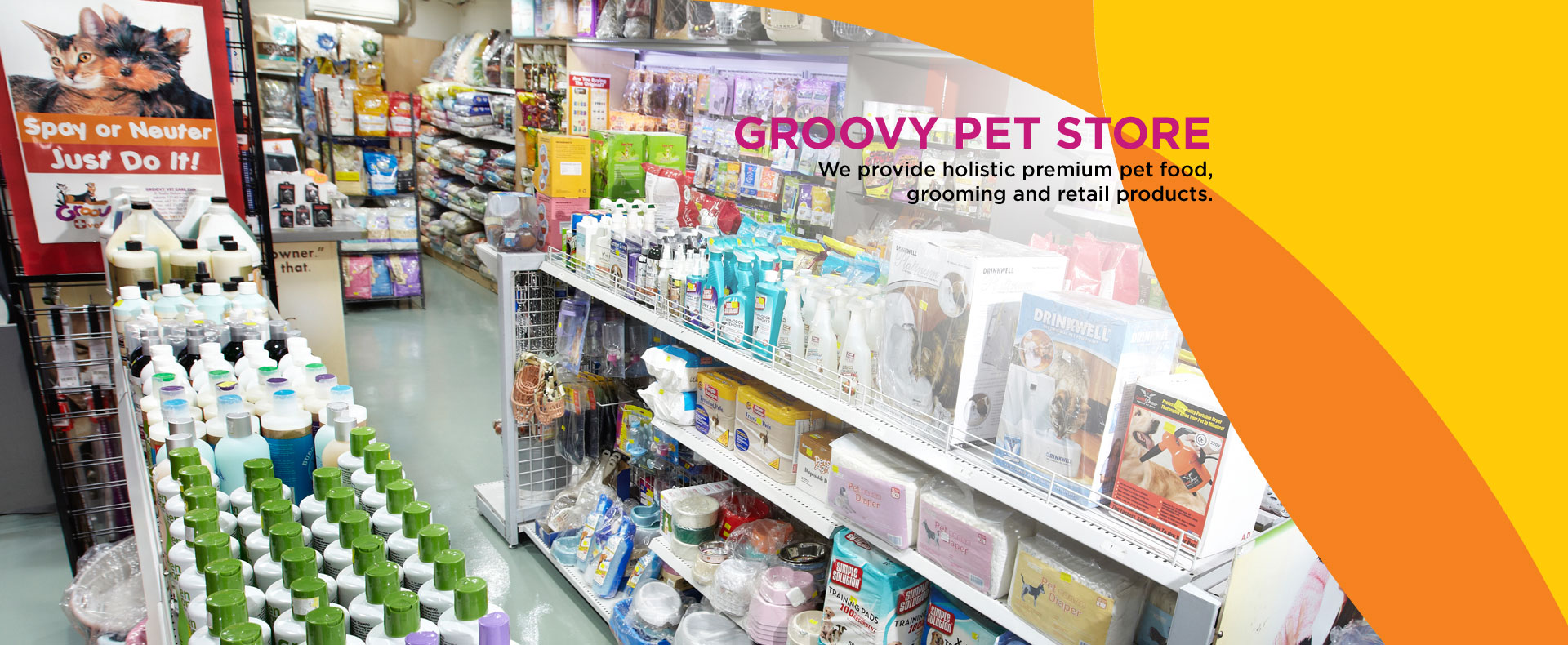 groovy pet store