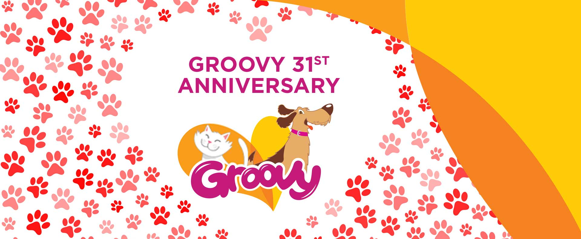Groovy 31st Anniversary